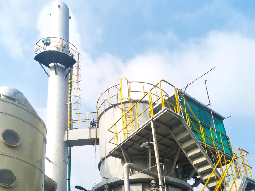 EPC Project of Tail Gas Treatment in Changzhou Qihui Pharmaceutical Co., Ltd.